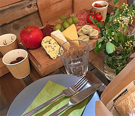 Saturday 16th June: Sussex, in a glass and on a plate picture